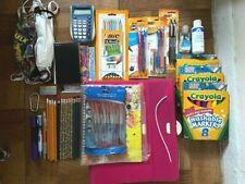 All grades School Essentials Supplies Bundle - Grades 4-12