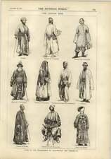 1878 The Afghan War Poultry Merchant Tartars Dervish Merchant Characters