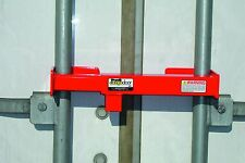 Lock for semi truck trailer load swing door security trucker 18 wheeler cargo
