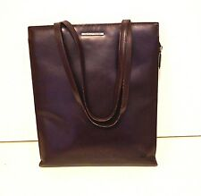 Authentic Giorgio Armani Cordovan Leather Tote 13 5 X11 X 1