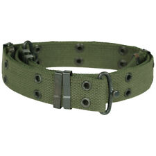 Tactical BDU Army Combat Mini Pistol Belt Military Airsoft Webbing Olive Drab OD