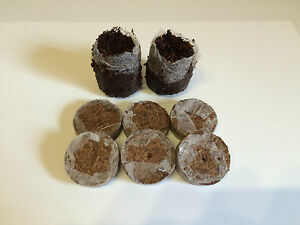 30mm Netted Coco Coir Peat Pellets - Seeds/Cutting Propagation, Expands Quickly