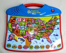 VTech USA Explore & Learn Map Electronic Interactive Educational #1165 Sound