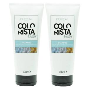 2x Loreal Colourista Fader Shampoo 200mL - Hair Colour Fade