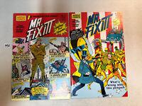 Mr. Mister Fix-It (1989) #1 & 2 (VF/NM) Complete Set Howard Bender art Apple