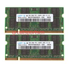 4 GB 4GB 2X 2GB PC2-5300 DDR2-667Mhz SODIMM Memory RAM For APPLE Macbook 2 GB