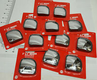 "Case of 12 cards of Peterson V604 2 inch Stick-On 2X2"" Wedge Blind Spot Mirrors"