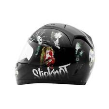 Rockhard Slipknot Nine Full Face Motorcycle Helmet Black White Medium MD