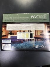 Niles WVC100K Stereo Volume Control with Impedance Magnification Brand New Item!