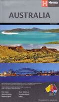 Australia Large Map (Hema)  New. Latest edition Priority post