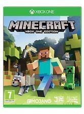 Minecraft XBOX ONE Nuevo y Sellado Gratis Uk Post 0885370830125