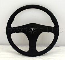 Nardi Gara 3/3 Steering Wheel 365mm Black Leather Mercedes Logo MADE IN ITALY