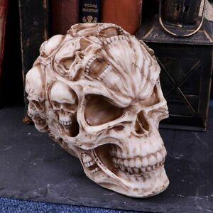 Nemesis Now James Ryman Skull of Skulls Skeleton Ornament 18cm