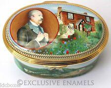 Halcyon Days Enamels Elgar Land Of Hope & Glory Musical Enamel Box