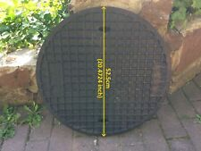 Inspection Chamber cover Round Manhole Drain Cover Underground Drainage 20.47in