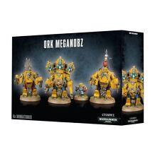 Warhammer 40K - Ork Meganobz- Brand New in Box! - 50-08