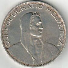 5 Schweizer Franken 1925 bis dato ein UNIKAT der Schweizer Numismatik, Silber