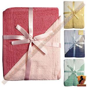 6 Piece Luxury Pure Egyptian Cotton Towel Sheet Bale 2xFace, 2xHand, 2xBath Set
