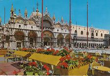 Alte Postkarte - Venedig - Die Markusbasilika