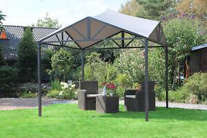 Leco Designer Pavillon Jule Gartenpavillon Pavillion Zelt 3 x 3 m 300 cm stabil