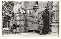 RIVERSIDE CALIFORNIA MISSION INN~FAMOUS FLIERS WALL~REAL PHOTO POSTCARD 1940s