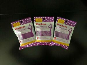 Plackers GentleSlide Dental Flossers -THREE PACK - MINT FLAVORED - GREAT PRICE!