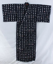 浴衣 Yukata japonais traditionnel XL - Kanji - MADE IN JAPAN Import direct Japon