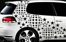93-teiliges Sterne Star Auto Aufkleber Set Sticker Tuning WANDTATTOO Blumen x19