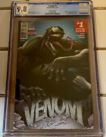 VENOM #1 CGC 9.8 2ND PRINT SANDOVAL COVER VENOM LEE PRICE APP (2017) RARE HTF NM