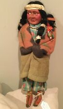 """Doll Skookum Indian 13.5"""" And Papoose"""