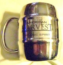 American Harvest Vodka Mug/Coffee Cup - Stainless Steel - 14 Ounces...NEW
