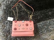 NWT Authentic COACH KLARE CROSSBODY Bag Blush & Multi Leather 91143 MSRP$428