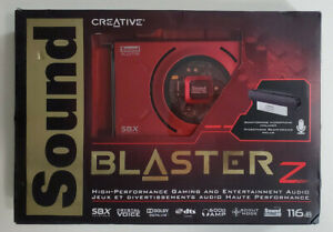 Creative Sound Blaster Z Sound Card - PCIe 70SB150000000  - New In Box