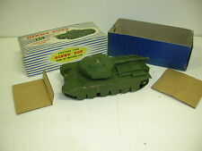 DINKY #651 CENTURION TANK - LIGHT RUST ON SIDES FROM BOX - MAKE OFFERS!!!!!!