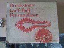 Golf Ball Personalizer Brookstone *New*