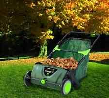 Push Lawn Sweeper Leaf Vacuum Grass Leaves Mower Rake Outdoor Yard Equipment