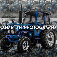 Ford 5610 vintage, tractor farming greetings, Birthday, Celebration card