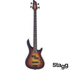 NEW Stagg FUSION BC300 4 String Jazz + Precision Electric Bass Vintage Sunburst