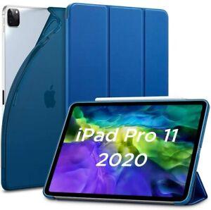 "ESR Rebound Slim Smart Case Cover for iPad Pro 11"" 2018 and 2020 Blue"