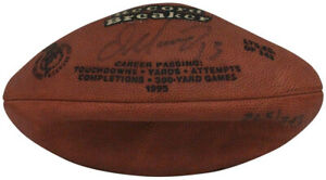 Dan Marino Autographed/Signed Miami Dolphins Mini Leather Football As Is 33036