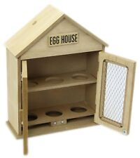 Rustic Shabby Chic Wooden Two Mesh Door Egg House Holder Storage Cabinet Kitchen