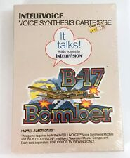 New & Sealed Intellivision / Intellivoice B-17 Bomber Mattel Electronics 1982
