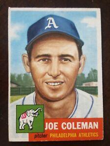1953 Topps Set Break #279 Joe Coleman EX High # SP