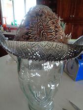 Saturno Straw Cowboy Western Hat Size 6 5/8 53 mexico.  Hecho En Mexico EUC