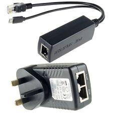 Raspberry Pi 3 Board Power Over Ethernet Kit PoE(Injector+ Splitter) 5V 2.4A