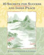10 Secrets for Success and Inner Peace by Wayne Dyer 2005 Cards