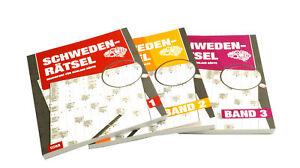 Schweden-Rätsel 1-3 Großdruck