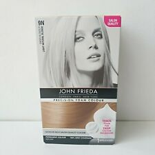 John Frieda Precision Foam Colour Hair Dye 9N Light Natural Blonde Fast Dispatch