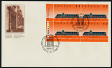 Canada 1182 BL Plate Block on FDC - McAdam Railway Station