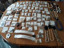 98 Vintage Piece Jewelry Lot Necklaces Bracelets & More